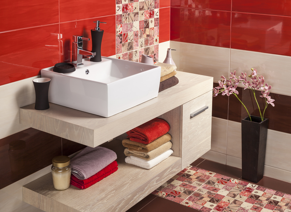 3 great ways to add colour to your bathroom design