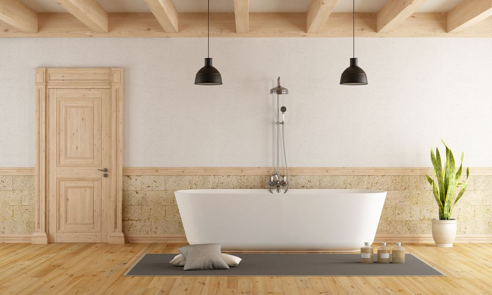Wood flooring for your bathroom and beyond